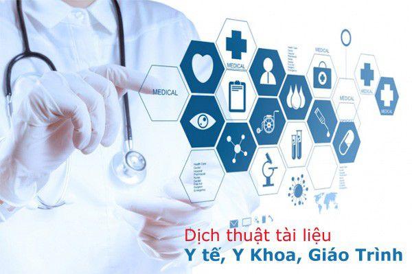 Dịch thuật tài liệu chuyên ngành y khoa